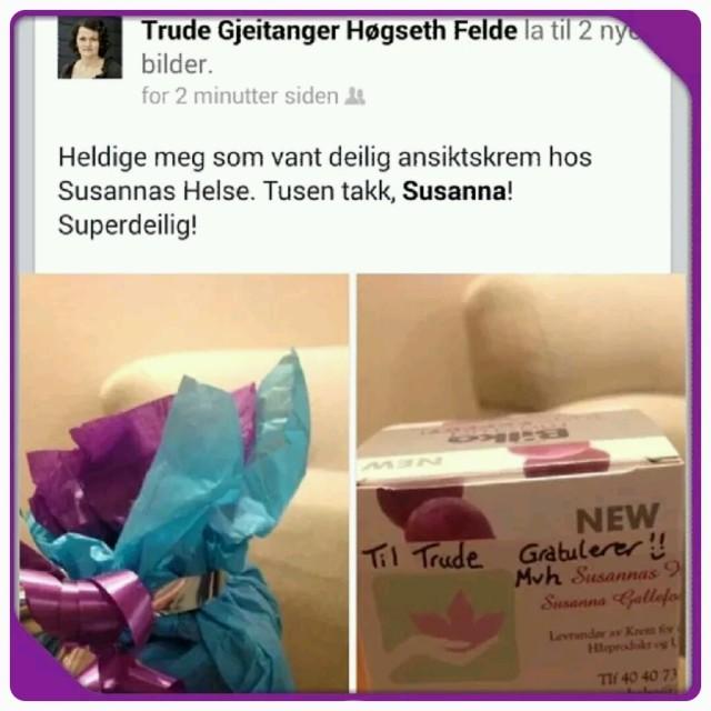 Susannas Helse vinner produkt