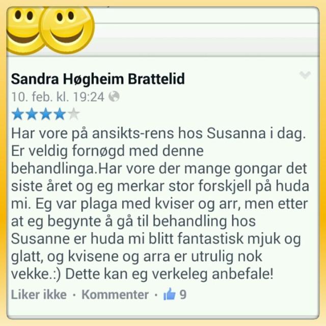 Susannashelse kommentar